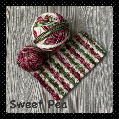 Sweet Pea- self striping