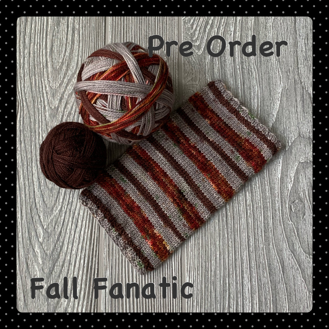 Fall Fanatic- self striping