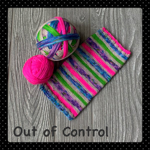 Out of Control- self striping
