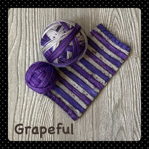 Grapeful - self striping