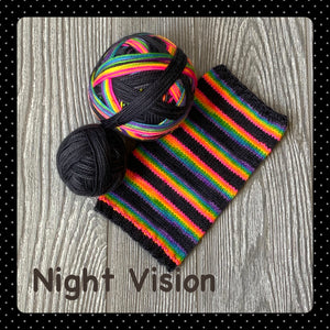 Night Vision - self striping