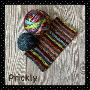 Prickly - self striping