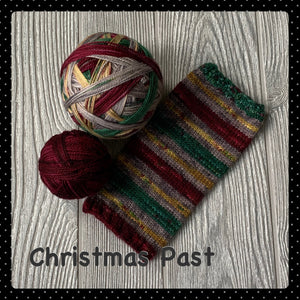 Christmas Past - self striping