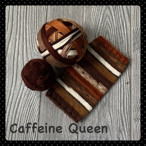 Caffeine Queen- self striping