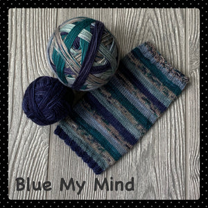 Blue My Mind - self striping