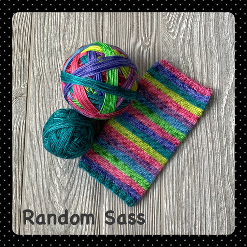 Random Sass- self striping
