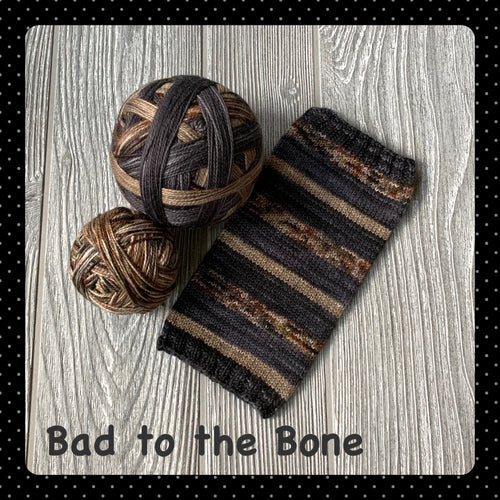 Bad to the Bone - self striping