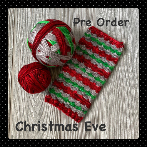 Christmas Eve - self striping PRE ORDER