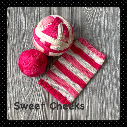 Sweet Cheeks - self striping
