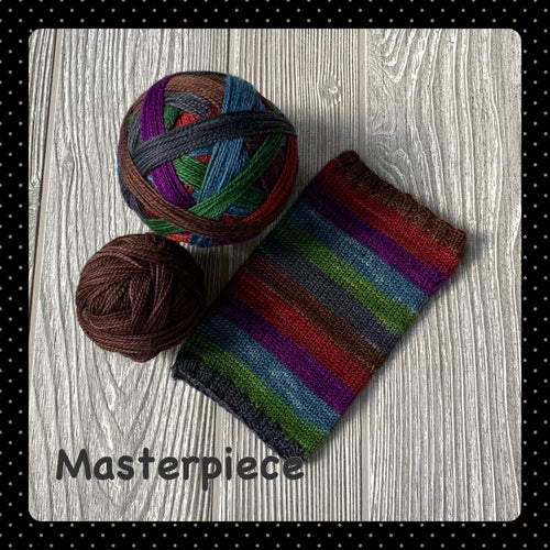 Masterpiece - self striping PRE ORDER