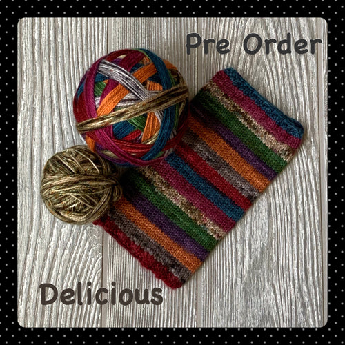 Delicious- self striping PRE ORDER