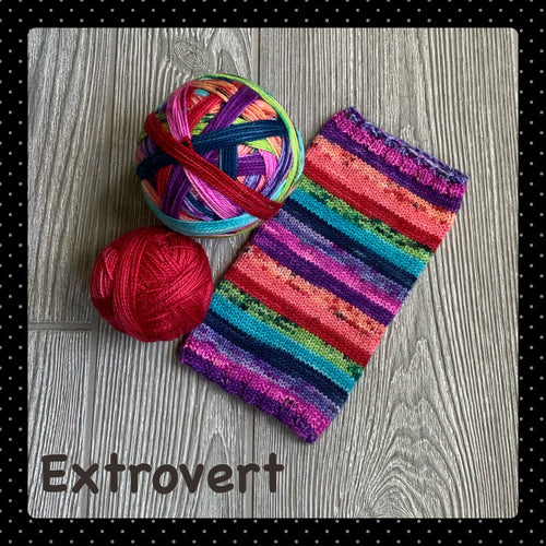 Extrovert - self striping PRE ORDER