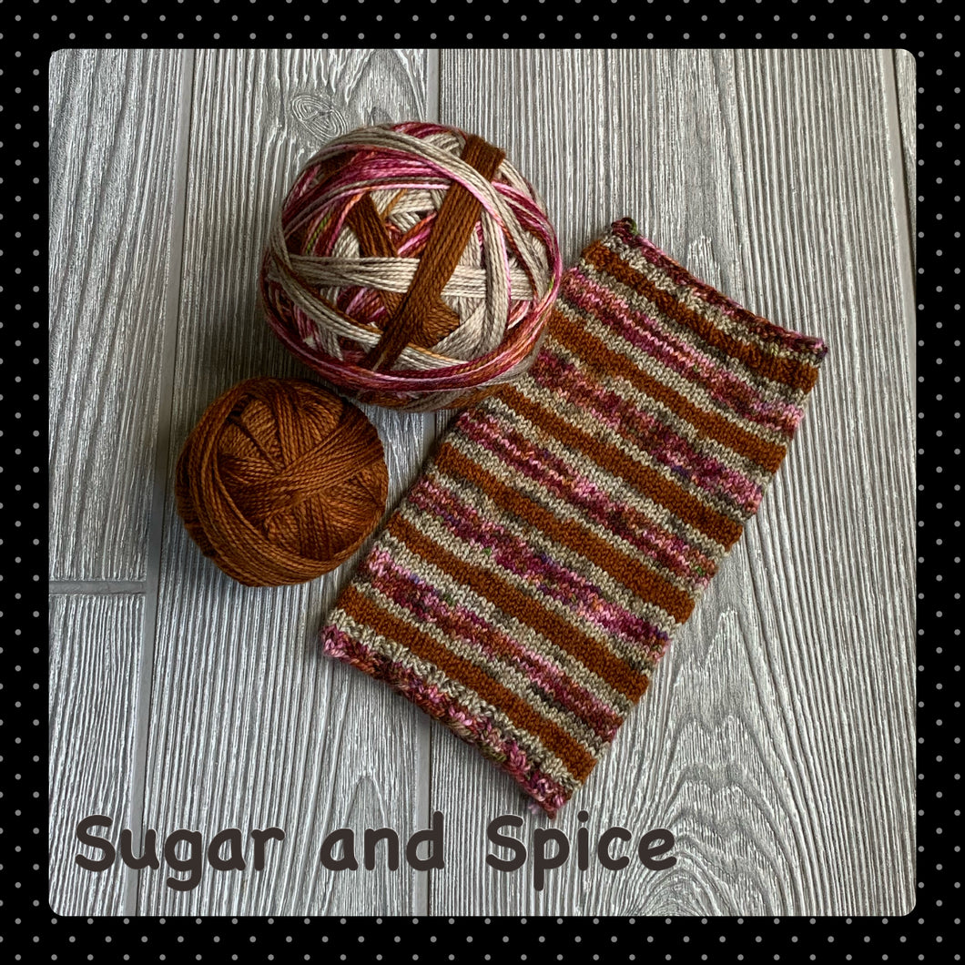 Sugar and Spice- self striping