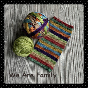 We Are Family- self striping