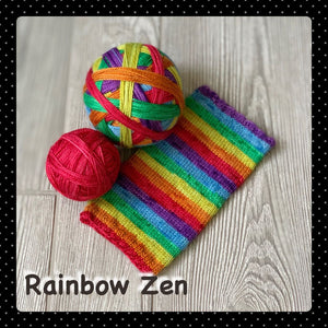 Rainbow Zen- self striping