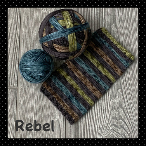 Rebel- self striping