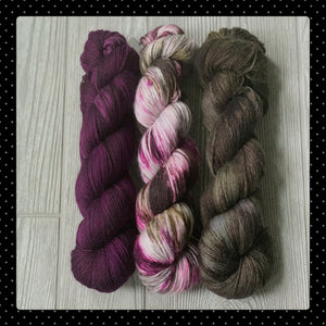 Lily Pond/Plum/Loden - Shawl Set