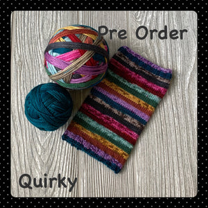 Quirky- self striping Pre Order