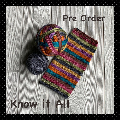 Know it All- self striping PRE ORDER