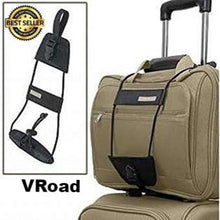 Load image into Gallery viewer, 1 Pack Elastic Telescopic Luggage Strap Travel Bag Parts Suitcase Fixed Belt Trolley Adjustable Security Accessories
