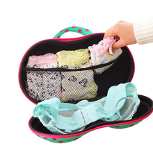 Load image into Gallery viewer, Travel Mesh Underwear Bra Storage Box Lingerie Portable Protect Holder