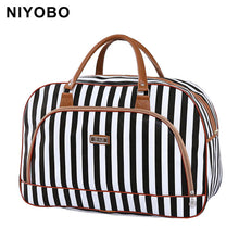 Load image into Gallery viewer, Waterproof Summer Style Leather Woman Travel Bag