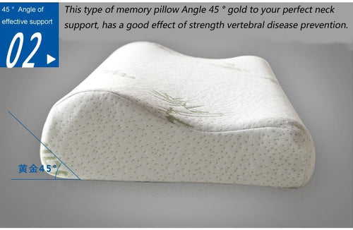 Sleeping Bamboo Memory Foam Orthopedic Pillow