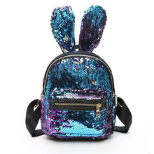Load image into Gallery viewer, Cute Rabbit Ears Double Shoulder Bag Mini Backpacks