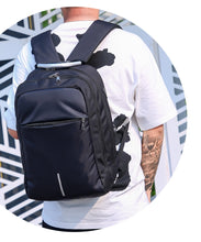 Load image into Gallery viewer, Men Backpack USB charging 15.6 inch Laptop Backpacks For Teenager Male