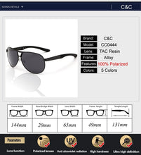 Load image into Gallery viewer, Classic Men Polarized Sunglasses Polaroid Driving Pilot Sunglasses