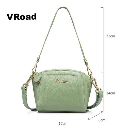 Fashion women genuine high quality leather handbag