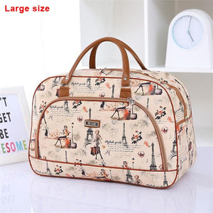 Waterproof Summer Style Leather Woman Travel Bag