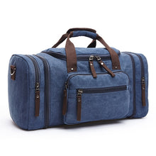 Load image into Gallery viewer, Men Travel Leather Bag Large Capacity