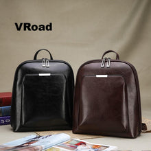 Load image into Gallery viewer, Women Backpack high quality PU Leather  Fashion Backpacks Casual Large Capacity