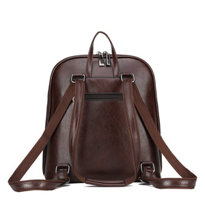 Women Backpack high quality PU Leather  Fashion Backpacks Casual Large Capacity