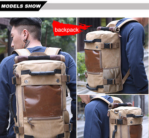 Men Travel Large Capacity Backpack