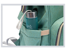 Load image into Gallery viewer, Large Capacity Multi-function Travel Diaper Bag and USB Charger