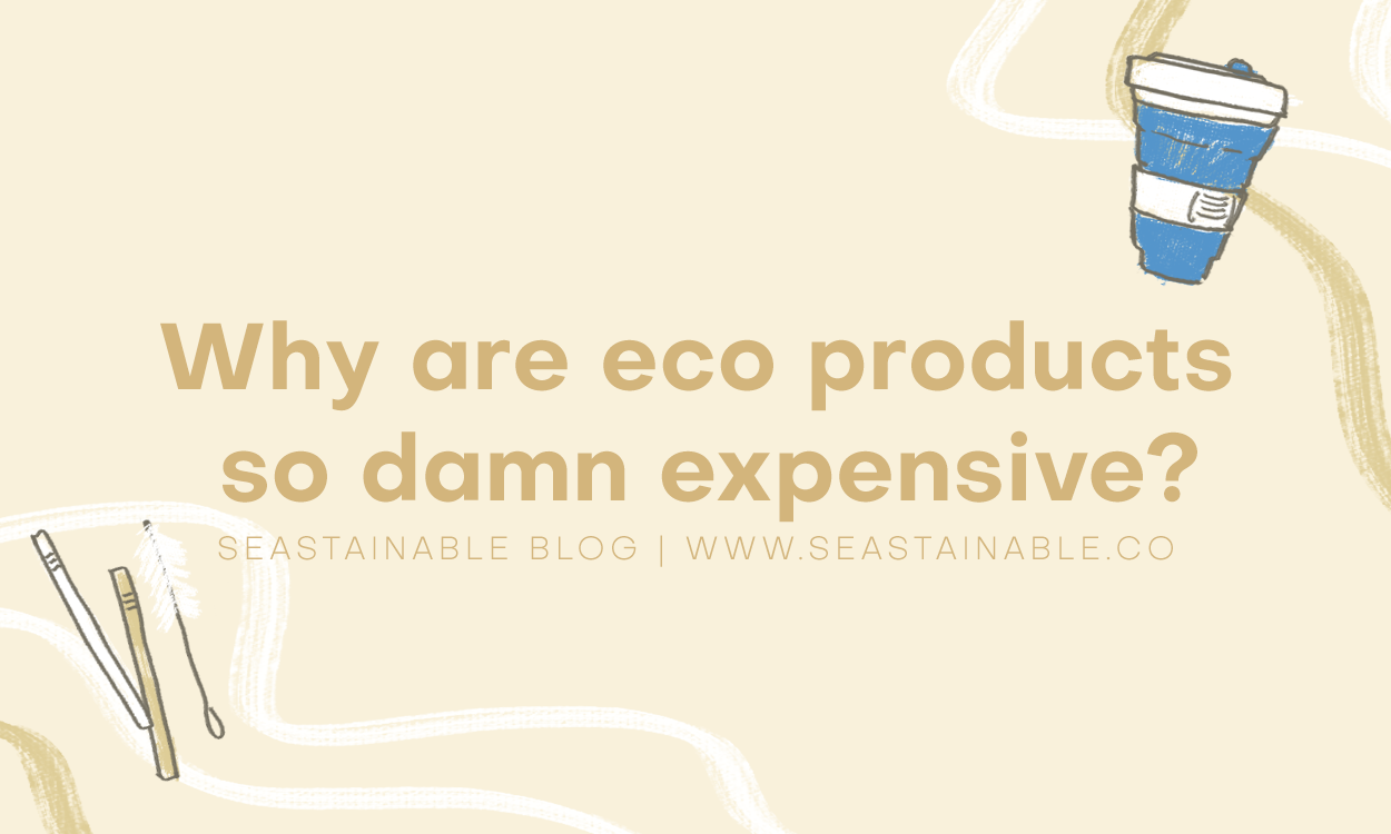 Why are eco-friendly products so damn expensive?