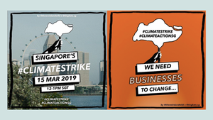 Lessons from Singapore's First Climate Change Strike (was it really a strike though?)