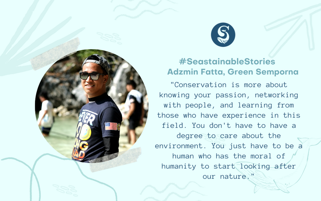 #SeastainableStories – Adzmin Fatta, Green Semporna