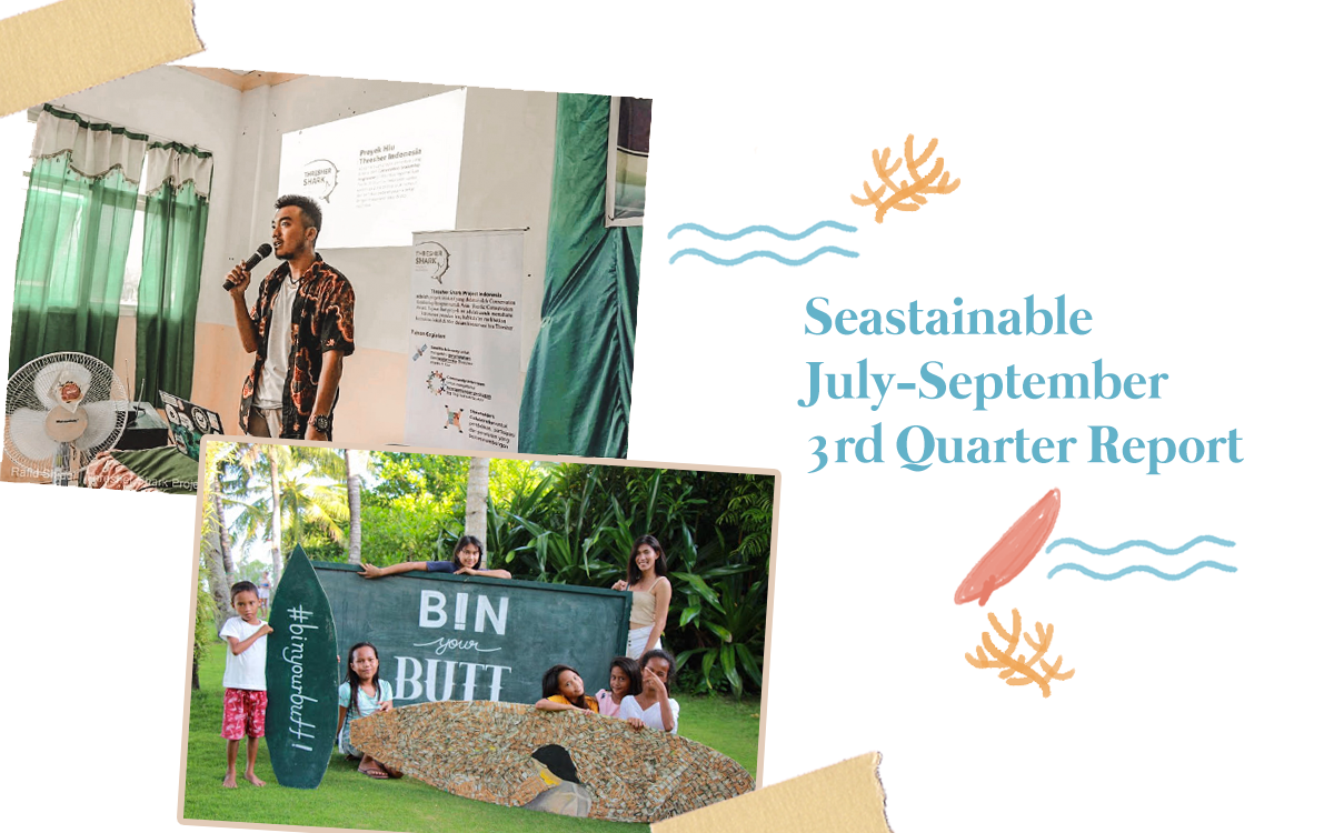 Seastainable Co. | 2019 July-September Updates