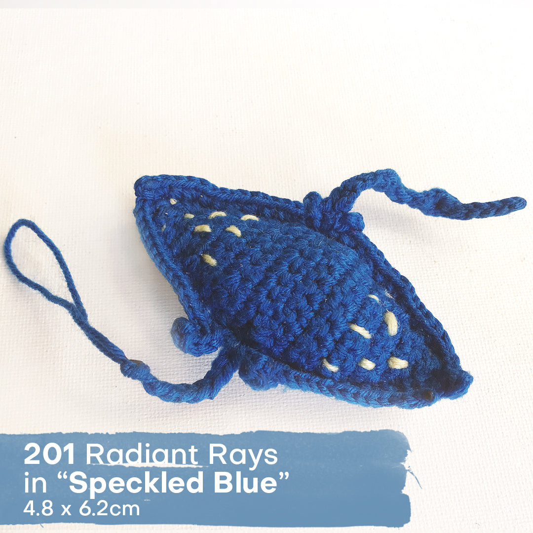 Radiant Rays - Seally Hand Crocheted Marine Animals