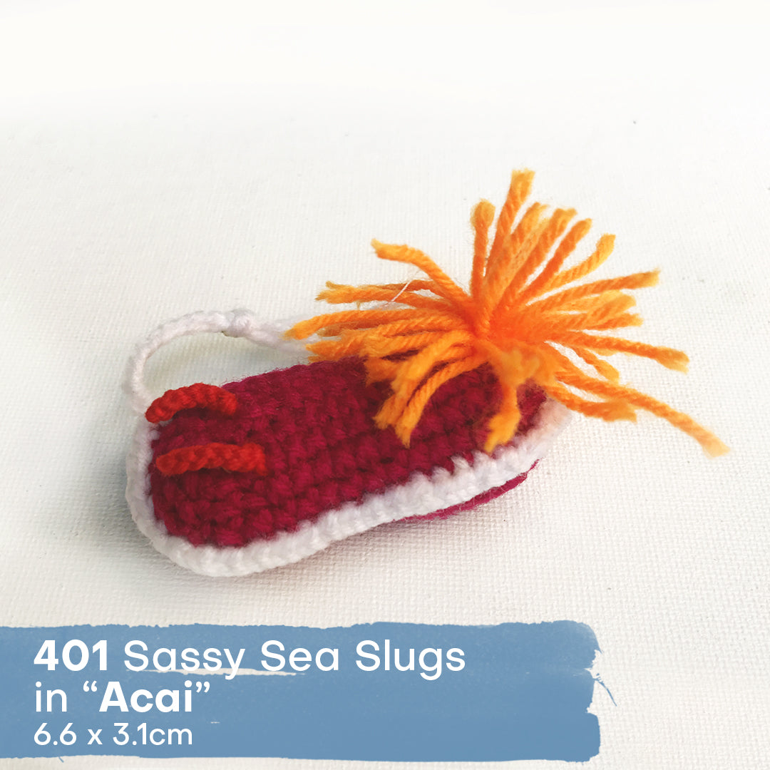 Sassy Slugs - Seally Hand Crocheted Marine Animals