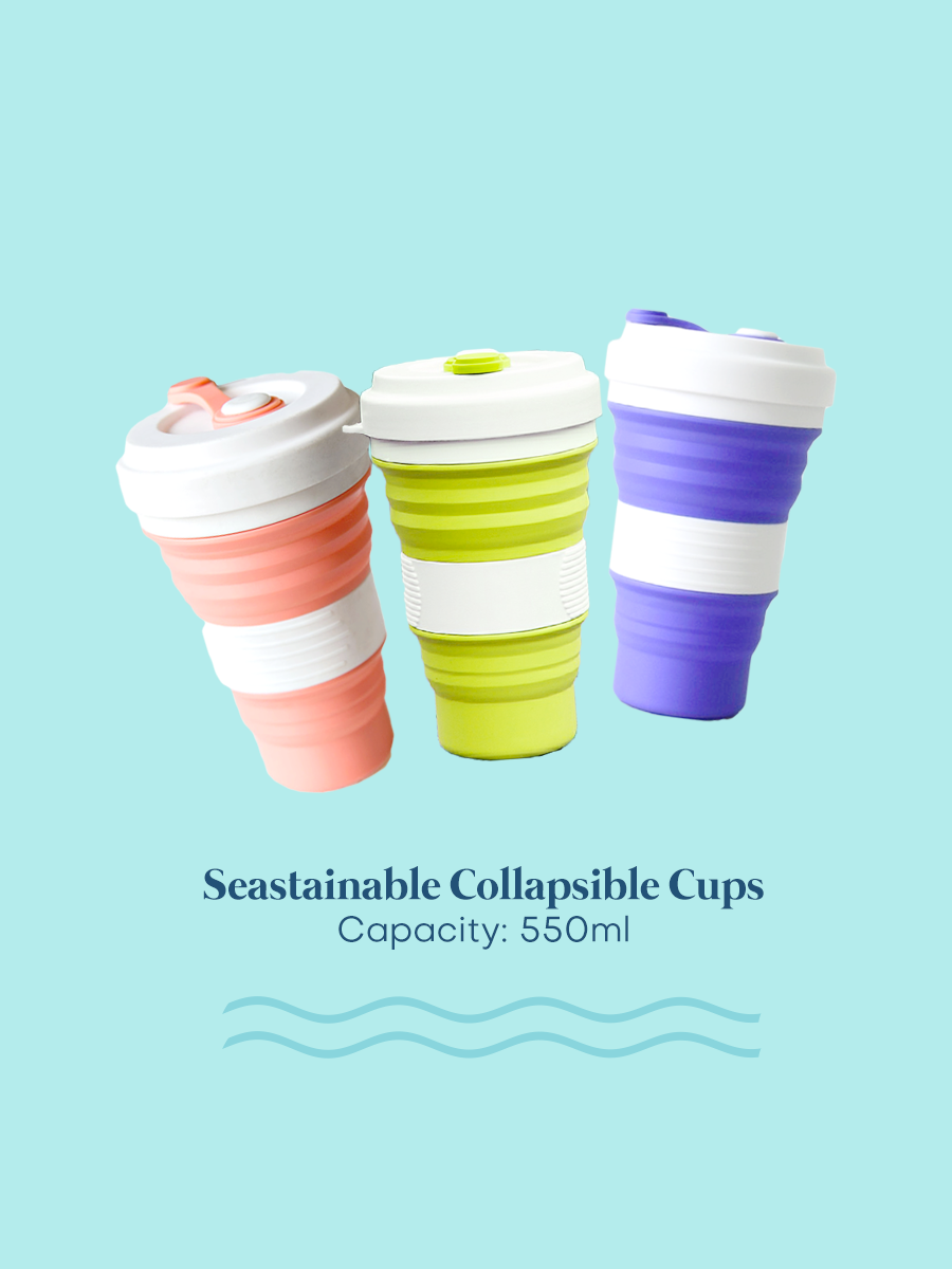 Seastainable Collapsible Silicone Cup