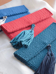 Estelle Mini Clutch by Rags2Riches for Salty Seas and Seastainable Co.