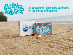 Reef Stakes® Marine-themed Card Game: Living Coral Edition