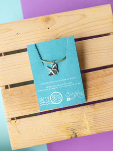 Manta Necklace by Cat + Kai Handmade Jewelry