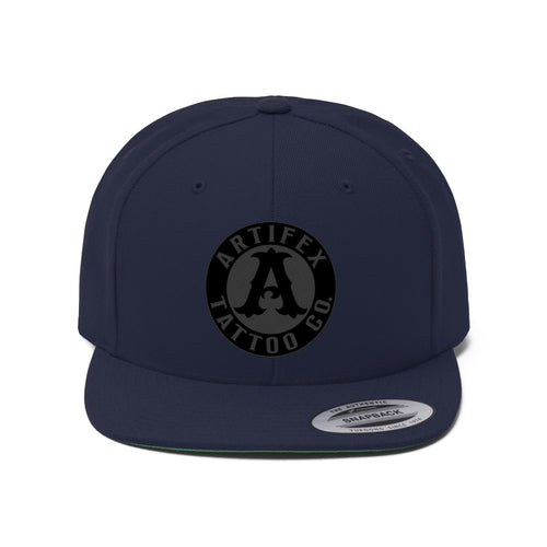 Badge V2 (Unisex Flat Bill Hat)