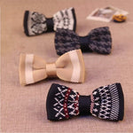 Pattern Knitted Bow Tie - Epicurean Style