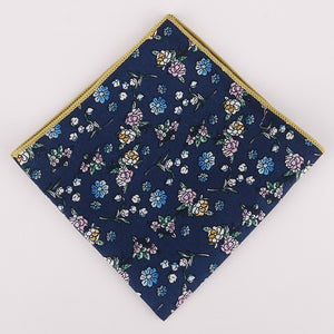Cotton Pocket Square - Epicurean Style